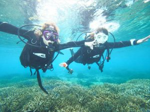 サンゴとワイド